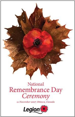 Remembrance Day Brochure 2017